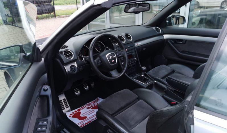 AUDI A4 S-line Cabrio full
